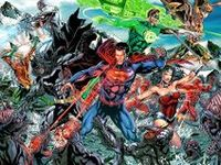 All sorts of Justice League goodness...