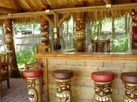 171 best benches swings tiki decor and furniture images for Arredamento tiki