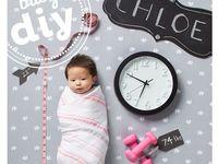 Creative Birth Anouncements / Birth announcement ideas
