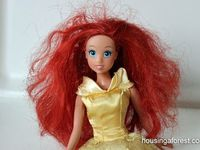 When your doll has a bad hair day this can help!