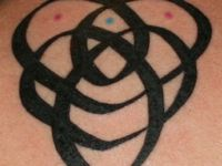 My Irish heritage is coming to the front of the line. I am peaking an interest in Celtic symbols and their meanings. I would like 1 final tattoo on my left ring finger to replaced lost wedding ring. There is no way I can replace my ring with another. After talking it over with my husband, I am going to get an Irish Celtic Knot that shows my marriage in a significant way!!