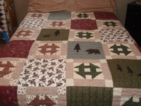 118 Best Lodge Quilts Images On Pinterest Quilt Block