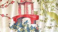 64 Best Chinoiserie Fabrics Images On Pinterest Sheet