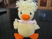 Crochet - Ducks ! on Pinterest Ducks, Crochet Appliques ...