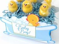 For Baby Showers {DIY} / DIY inspiration and ideas for baby showers; everything from décor to gifts. Find baby-themed gift packaging at www.boxcoindustries.com.