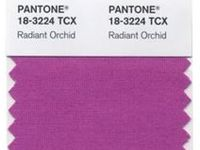 :: Pantone Color of 2014 - Radiant Orchid