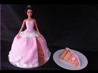 Doll,dress cake