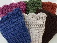 Crochet Boot Cuffs and Leg Warmers