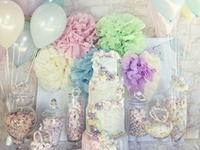mandansbrown bridal shower decorations