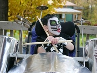 Halloween ideas for kids in wheelchairs.