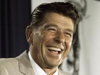 President Ronald Reagan. PATRIOT