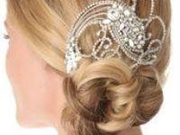 Penteados para noivas.