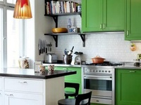 Green Color Kitchen Ideas