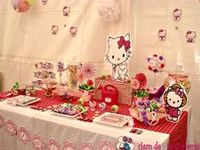~ ٩(-̮̮̃-̃)۶Hello Kitty Party ~