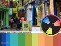 Color Inspiration / Exciting color inspiration from photo to color palette and color wheel relationship (Eye For Color)