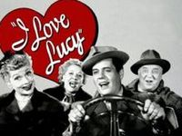 I Love Lucy is an American television sitcom starring Lucille Ball, Desi Arnaz, Vivian Vance, and William Frawley. The black-and-white series originally ran from October 15, 1951, to May 6, 1957, on the Columbia Broadcasting System (CBS).  The series ended in 1957.