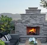 Outdoor Fireplaces / The ideal way to add outdoor ambiance and enjoy all four seasons in your backyard.