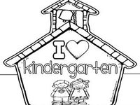 I love Kindergarten!
