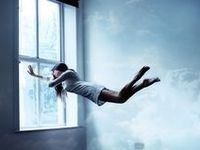 Dreamy, Surreal, underwater, Float, Floating, fairy tale  Art photography