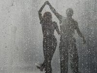 Still love to #dance & #play in the #rain. And it's such a #refreshing experience, so give it a try! You're never too old. #Splash #fun