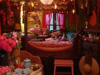 The house of the Mad Hatter ~  Everything I would love to live with/in/on