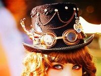 Steampunk clothes and accessories