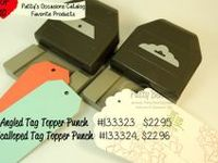 SU Tag Topper Punches (Angled & Scalloped)