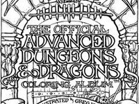 82 best images about Dungeons and Dragons Coloring on ...
