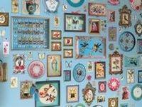 neues Projekt für unser Wohnzimmer: Bildergalerie für die Wand. Alles rund um die Rahmengestaltung, Bilder, Drucke, Ideen,...