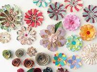 Basteln: Blumen