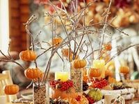 ~Tablescapes & Centerpieces - Fall~