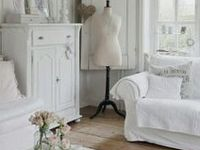 Landelijk wit interieur ~ on Pinterest  Shabby chic, French Country ...