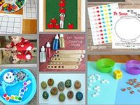Preschool math games, counting activities, and other free printables for preschool