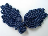 Chinese knot Button