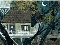 Homes: Tree houses.