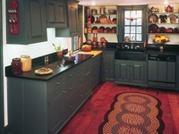 Prim Kitchens & Dining Rooms