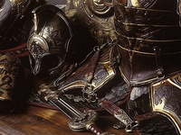 Warriors, weapons, armors