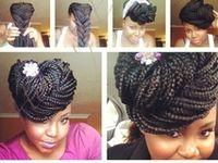 """Box braids , patras ou encore """"senegalese twist"""", voici mes coups de coeur / inspiration pour les tresses africaines"""