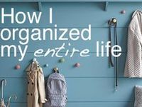 Clever idea, tips, projects and products to organize your life... An extension of our Project Organize Your ENTIRE Life series:   http://www.modernparentsmessykids.com/category/project-organize-your-entire-life