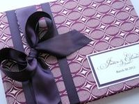Wedding guest books & card boxes