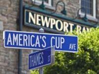 Anchored in Newport