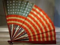 """""""Red, White,and Blue"""", the colors of our American Flag. """"God Bless America."""""""