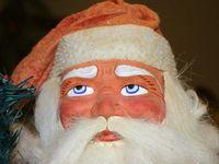 I love the old German Santas.