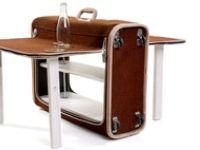 Nuevos usos para maletas viejas.