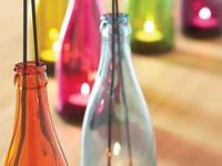 Ideas de como reciclar y reutilizar tus botellas de cristal favoritas y convertirlas en otros productos útilies y hermosos