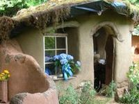 House>>>cob, earth bag, green, recycled materials