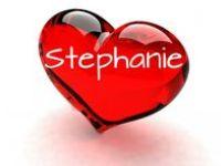 To Stephanie with love!