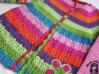 Knit & Crochet Baby & Children Patterns on Pinterest | Baby Sweaters