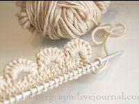 Knitting - Stitches, Trims, Tutorials