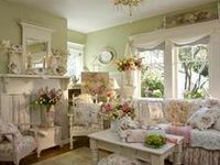 709 Best Victorian Romantic Shabby Cottage Living Rooms